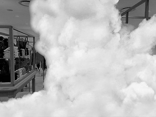 nebbia di sicurezza